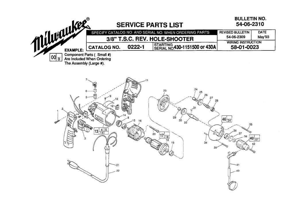Buy Milwaukee 0222-1-(430A) 3/8