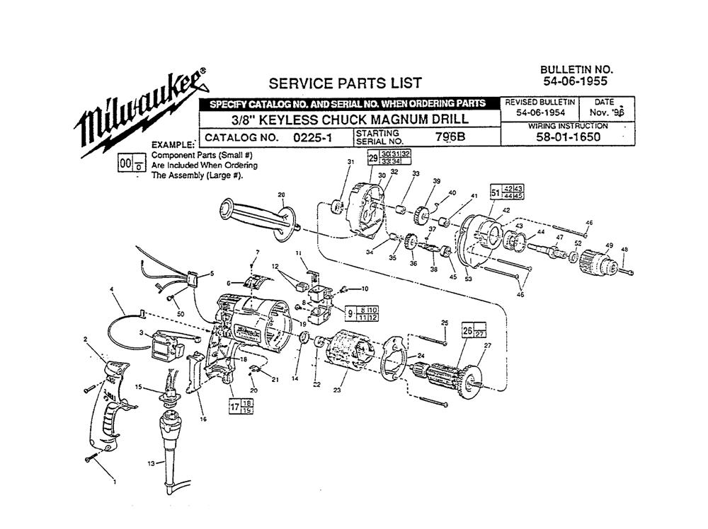 Buy Milwaukee 0225-1-(796B) 3/8