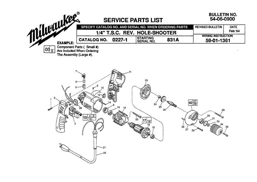 Buy Milwaukee 0227-1-(831A) 3/8