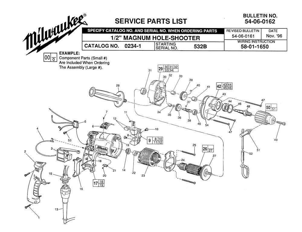 Buy Milwaukee 0234-1-(532B) 1/2