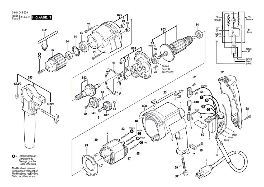 Dewalt Drill Switch Wiring Diagrams Milwaukee Drill Switch