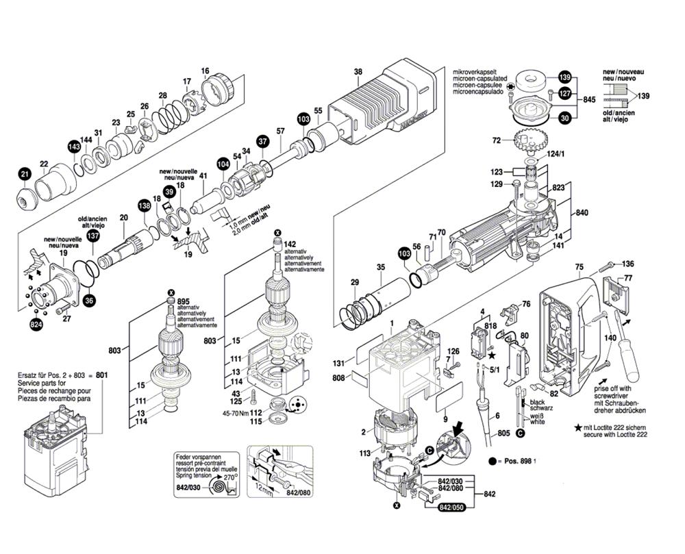 Buy Bosch 11311EVS-(0611311739) Demolition Hammer