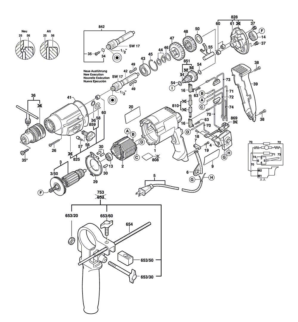 Buy Bosch 1169VSR Dual Torque 1/2 Inch 0-1000, 0-1,900 5