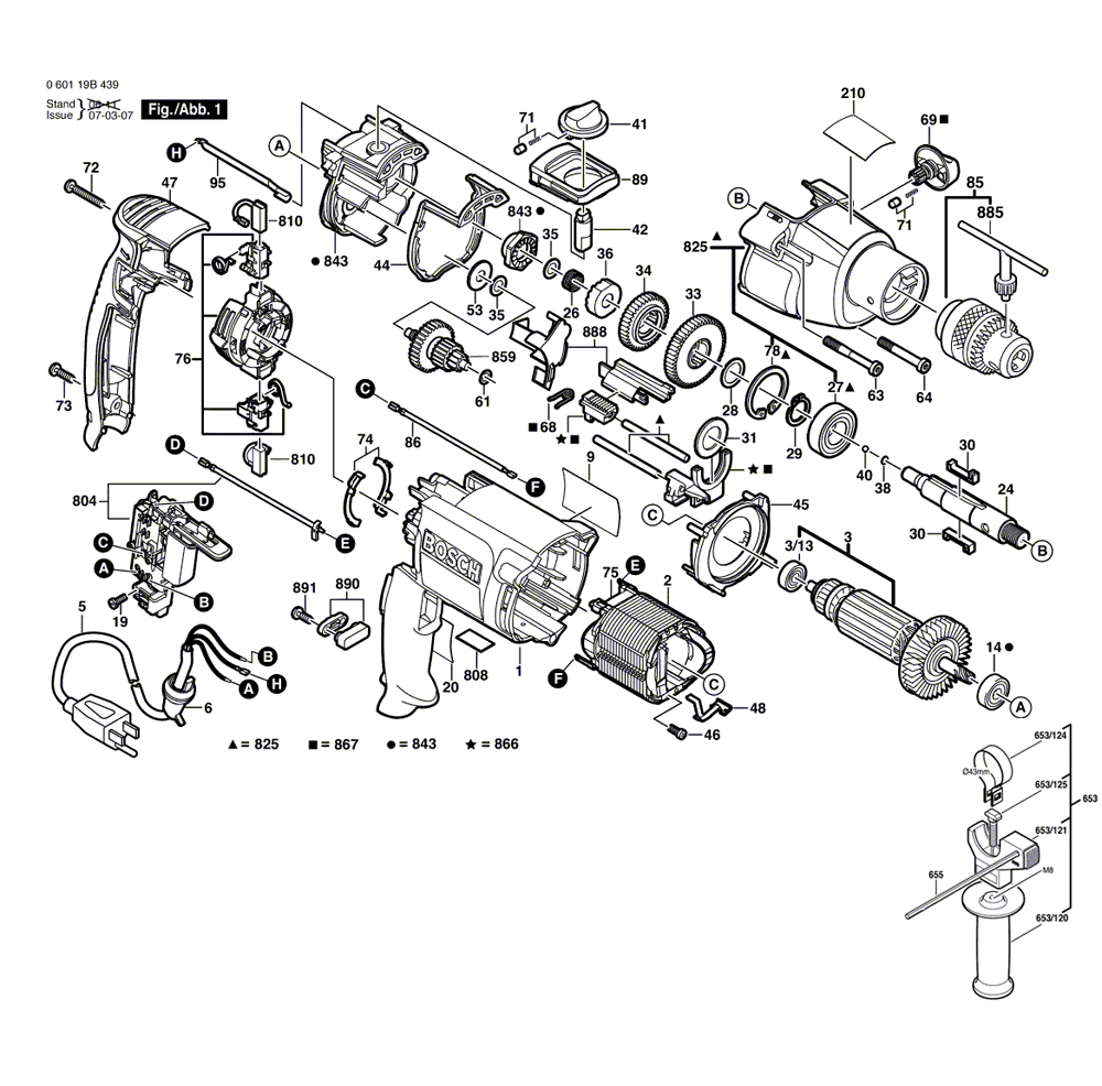 Buy Bosch 1199VSR 1/2 Inch Dual-Torque VSR Replacement