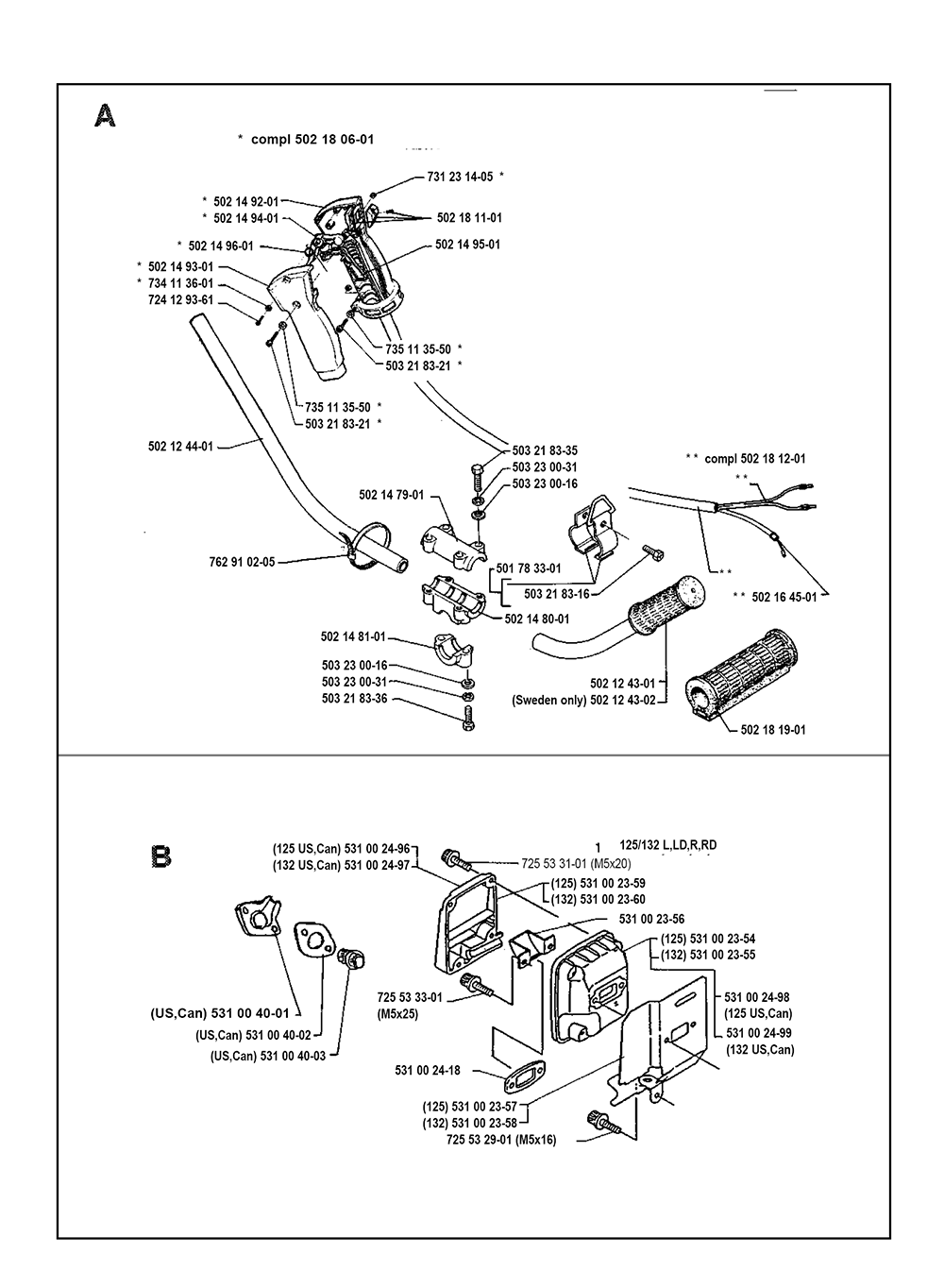 125r Husqvarna Parts. 125r. Tractor Engine And Wiring Diagram