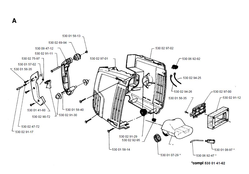 Buy Husqvarna 132HBV Type-2 Replacement Tool Parts