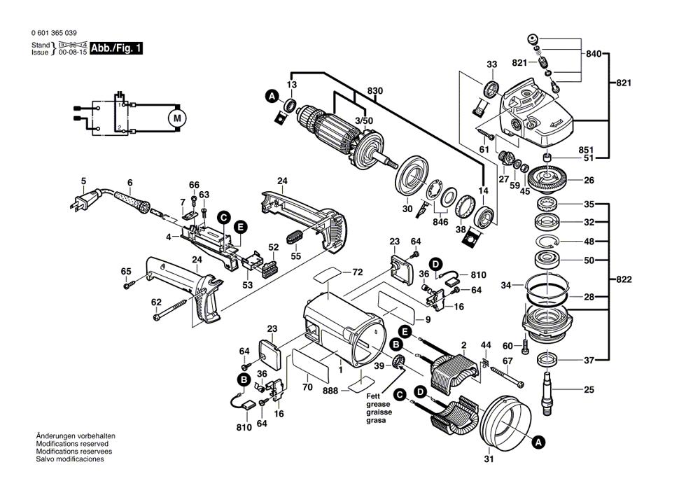 Buy bosch 1365K Cutoff Machine 14 Inch Replacement Tool