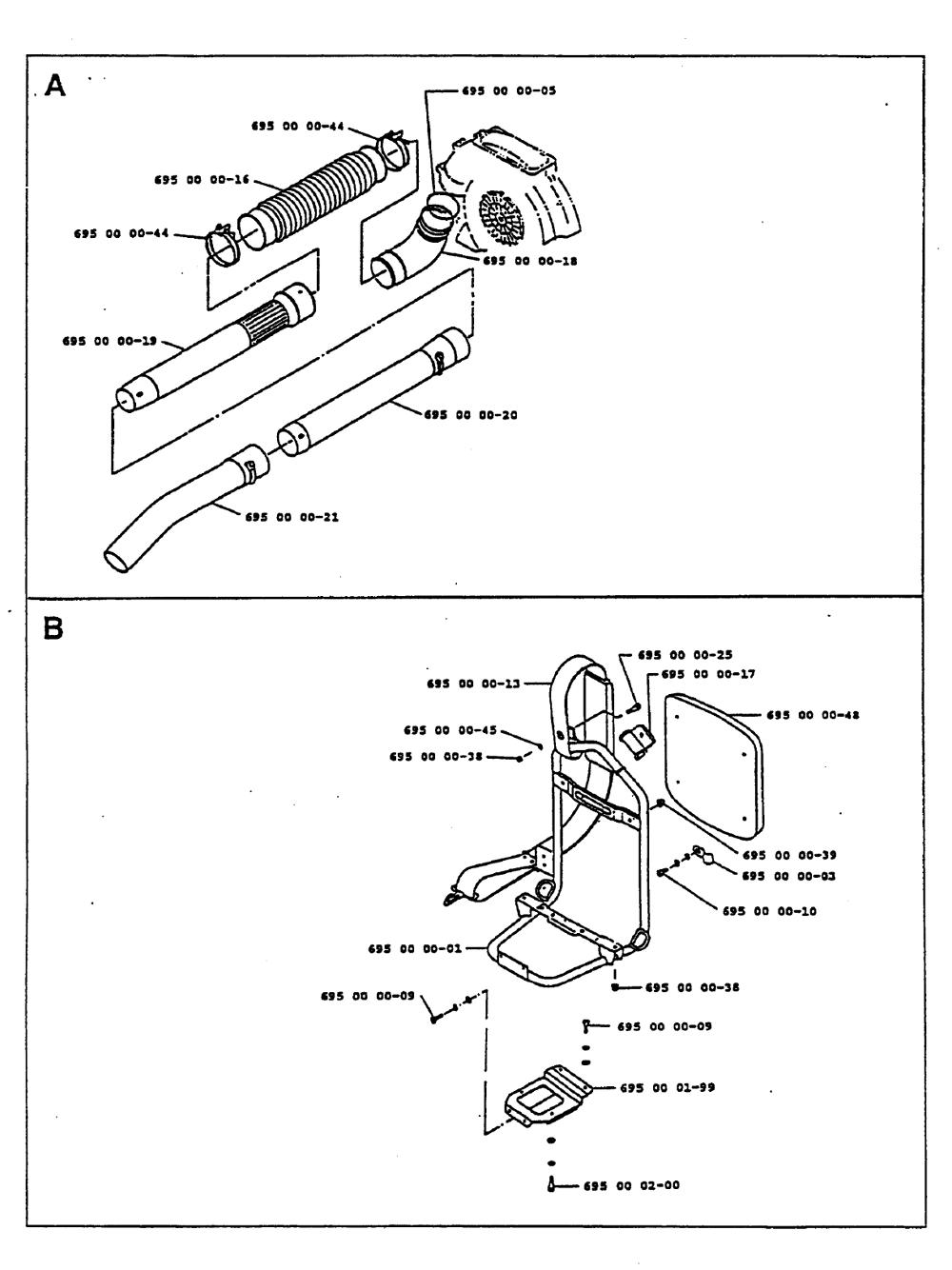 Buy Husqvarna 140B Type-3 Replacement Tool Parts
