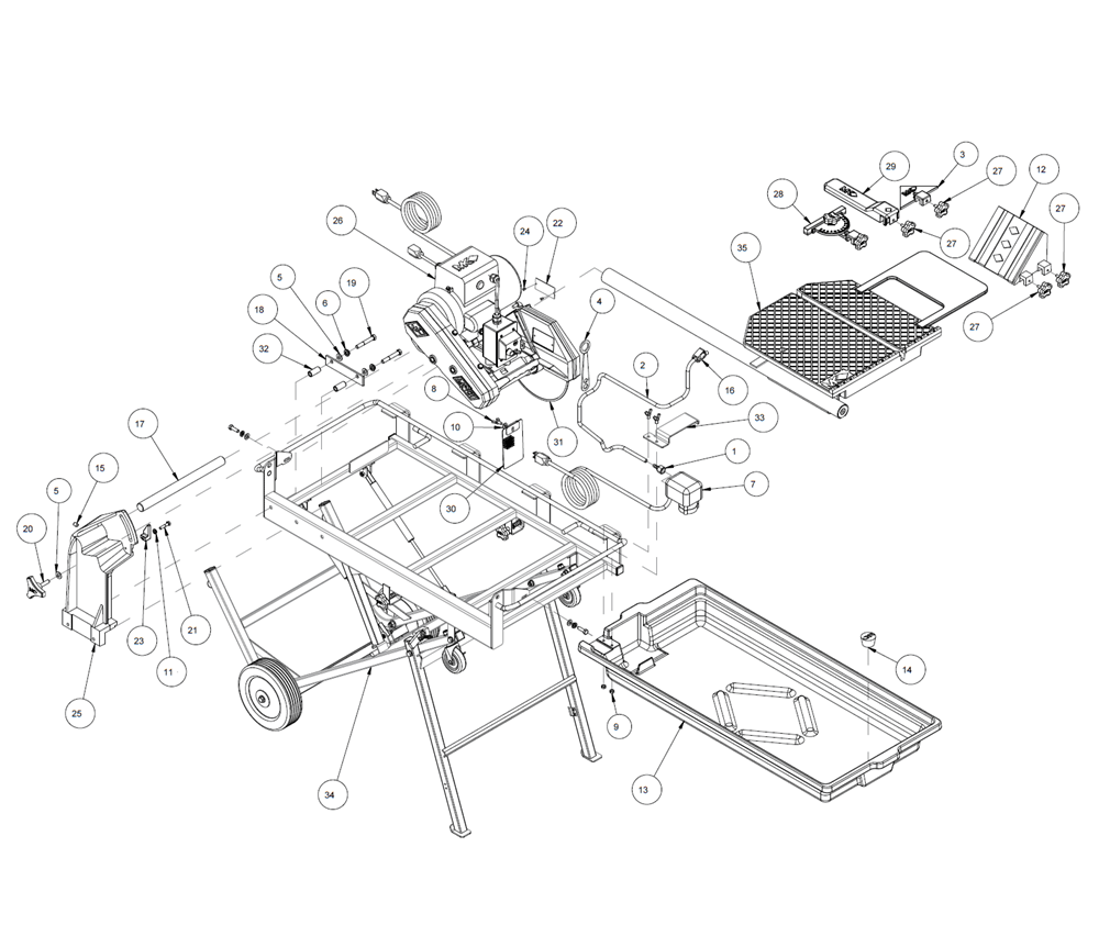 De Walt Circular Saw Parts Diagram, De, Free Engine Image