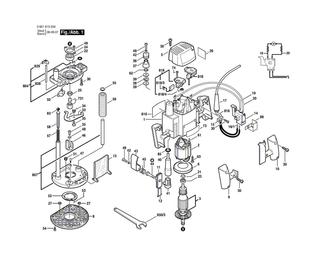 Buy Bosch 1613-(0601613034) Reciprocating Parts