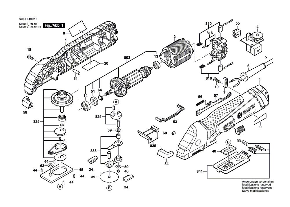 Buy Bosch 1640VS (3601F40010) FineCutTM VS Power Handsaw