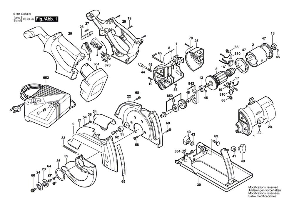 Buy Bosch 1661 14.4V Cordless Circular Replacement Tool