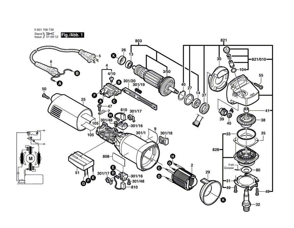 Bosch Power Tool Schematics