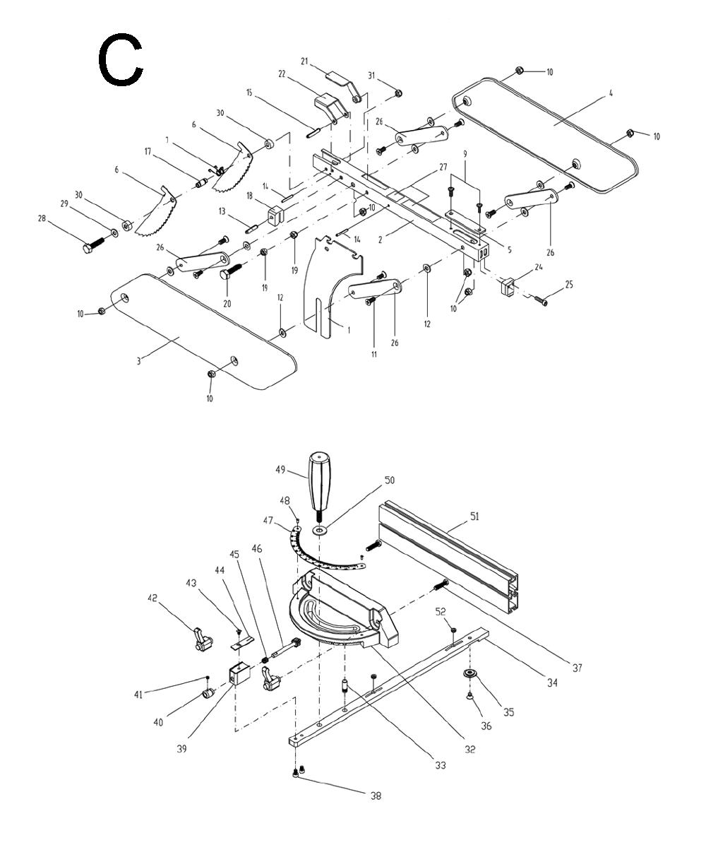 Buy Powermatic 1791229K 64B Table, 1.75 HP 115/230V, 30