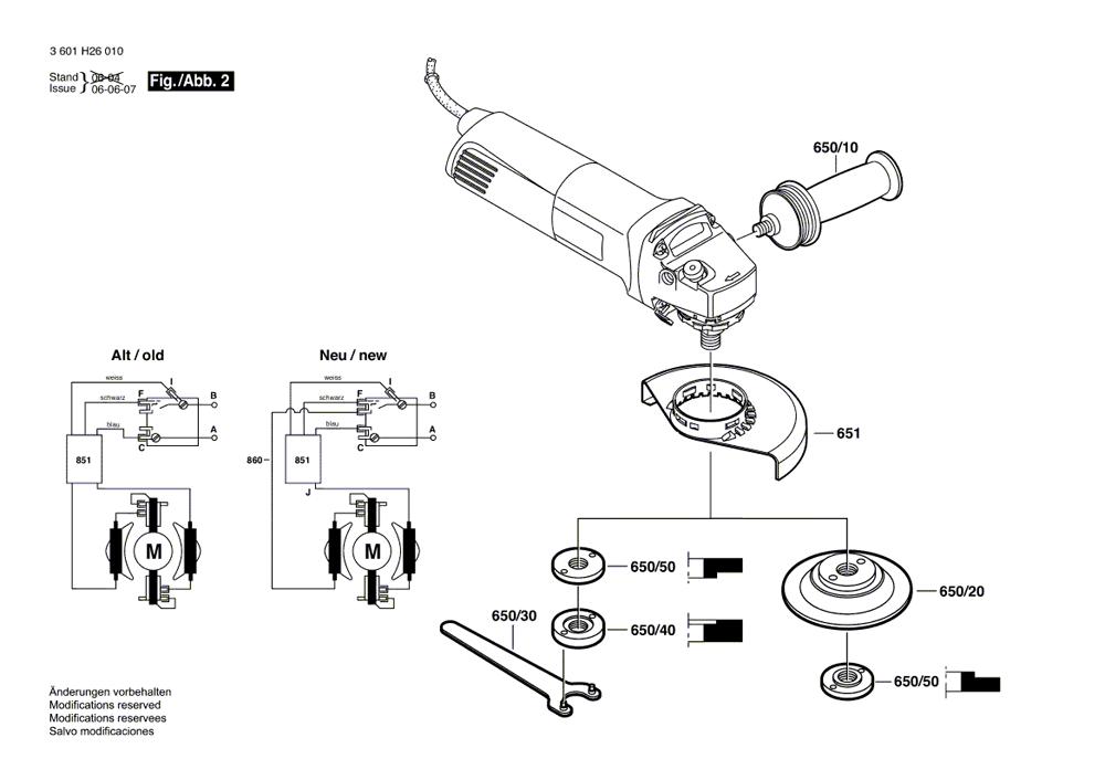 Buy Bosch 1806E Small Angle 6 Inch 9,300 RPM Replacement