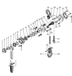 3 4 ton chain hoist diagram 97 3 4 liter 4runner engine diagram [ 1000 x 921 Pixel ]