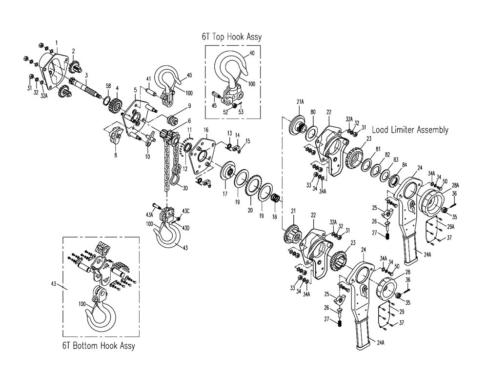 Buy Jet 187753 JLP-075AWO-15, 3/4 Ton Lever Hoist W/15