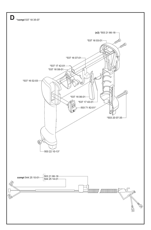 Buy Husqvarna 235 RII-(5443961-01) Replacement Tool Parts