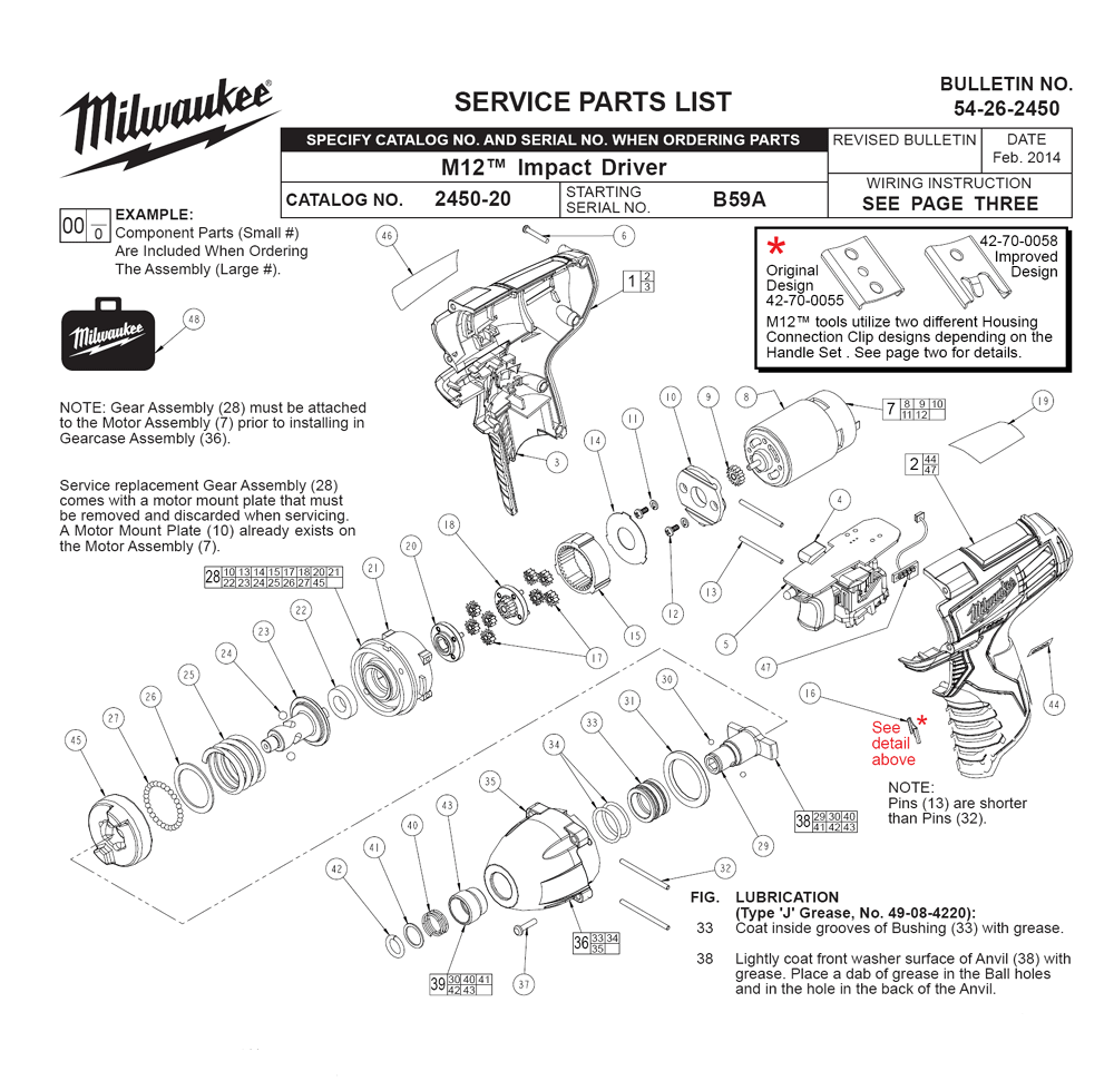 Buy Milwaukee 2450-21-(B59A) M12™ REDLITHIUM™ 1/4