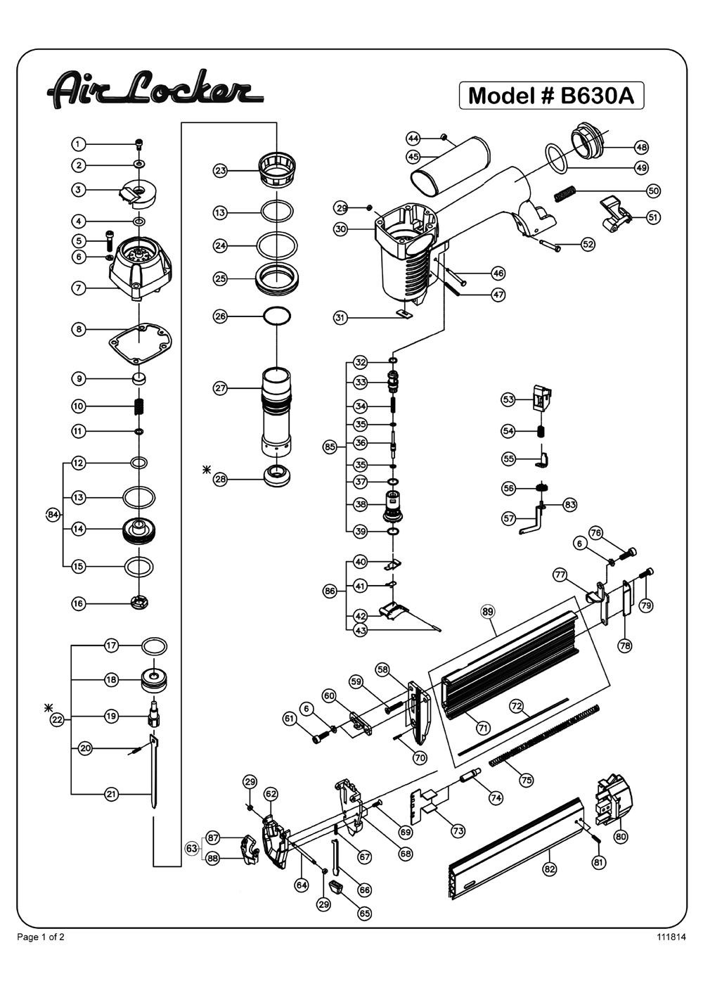 Buy Air Locker B630A 18 Gauge 2