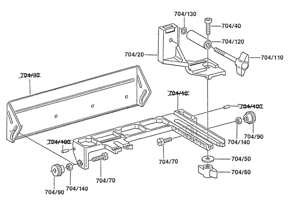 Buy Bosch 2607001079 Sanding Fence for 1274DVS Belt