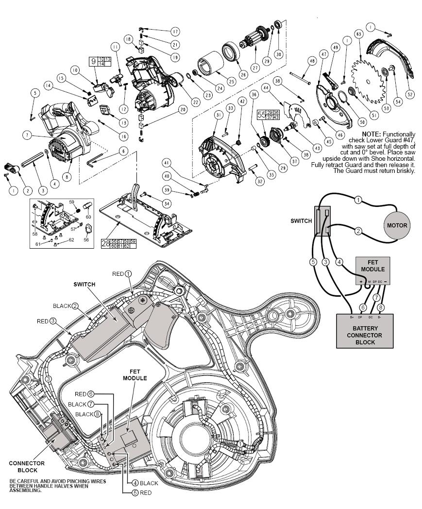 circular saw wiring diagram wiring diagram schematic