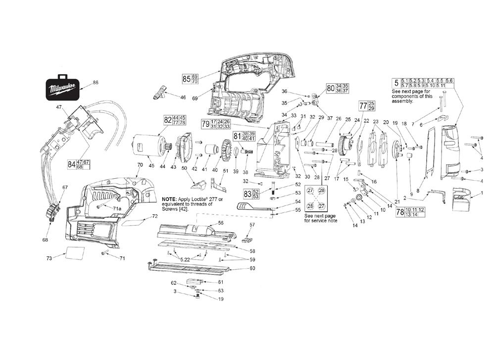 Buy Milwaukee 2645-20-(C07B) CORDLESS M18 ORBITAL JIG