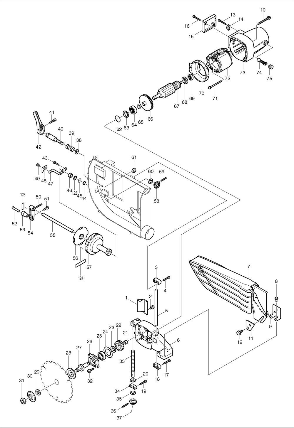 Makita 2703 Wiring Diagram : 26 Wiring Diagram Images