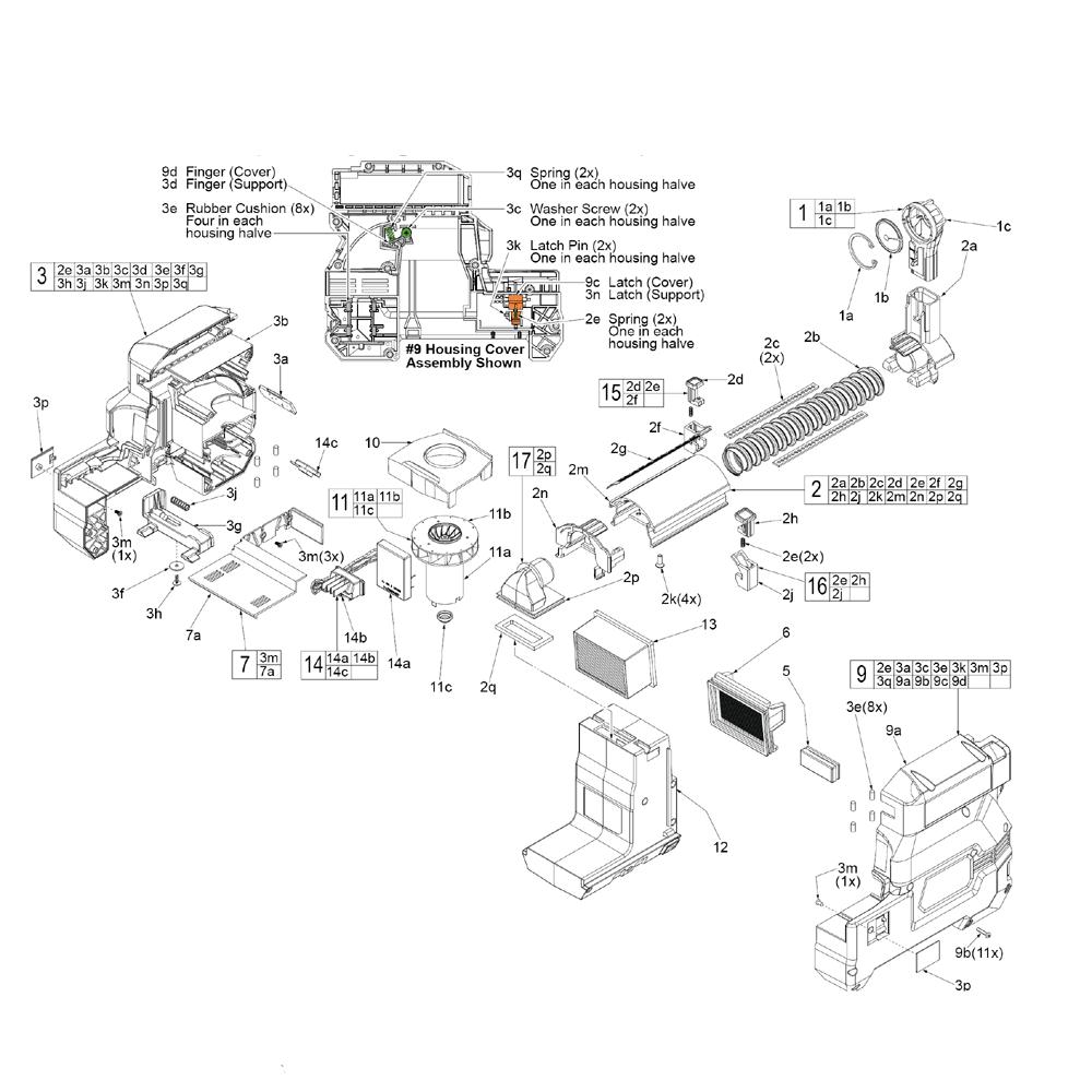 Buy Milwaukee 2712-22DE-(G30A) M18™ HammerVAC™ Dust