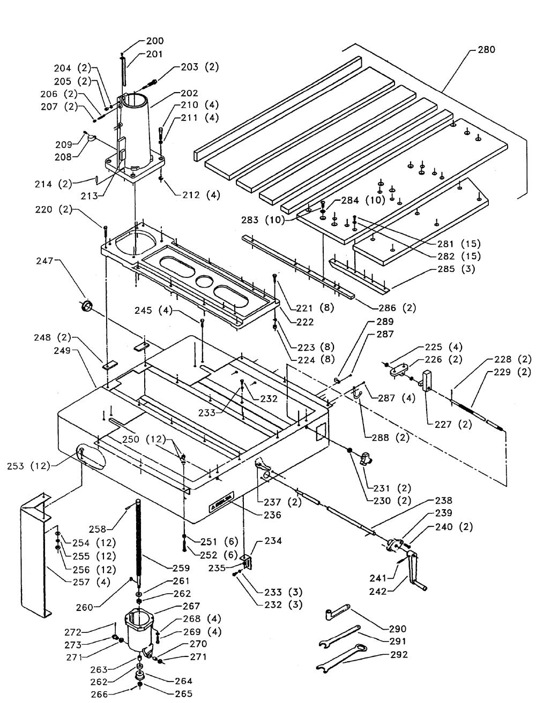 Buy Delta 33-400 Type-1 14-Inch 3 Horsepower Radial Arm