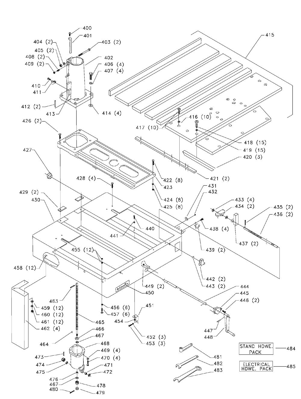 Buy Delta 33-421 Type-1 7 1/2 HP, 18 Inch Radial Arm