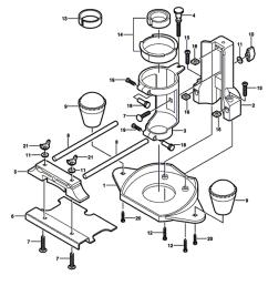 replacement tool parts dremel 33032 2615033032 router diagram [ 1000 x 1020 Pixel ]