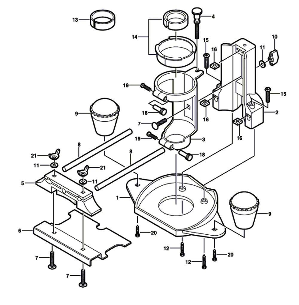 medium resolution of replacement tool parts dremel 33032 2615033032 router diagram