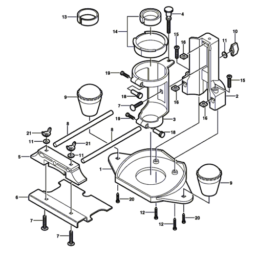 small resolution of replacement tool parts dremel 33032 2615033032 router diagram