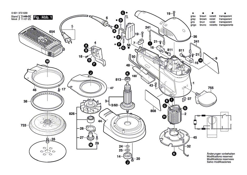 Buy Bosch 3727DEVS 6 Inch Electronic VS R.O. w/ Micro