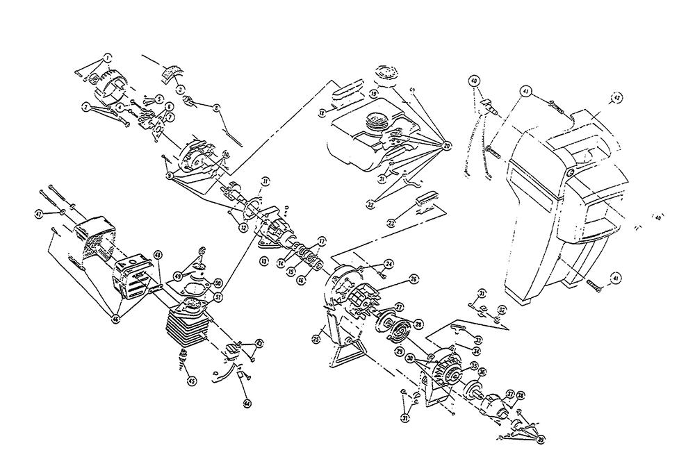 Buy Ryobi 375SSR (004025101) Replacement Tool Parts