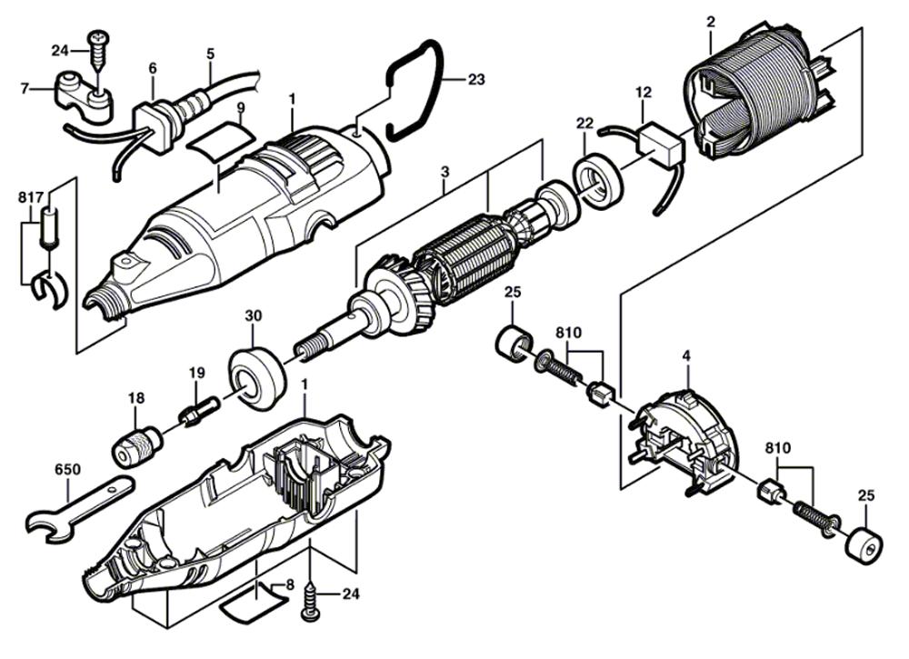 Buy Dremel 395 (F0130395FM) Replacement Tool Parts