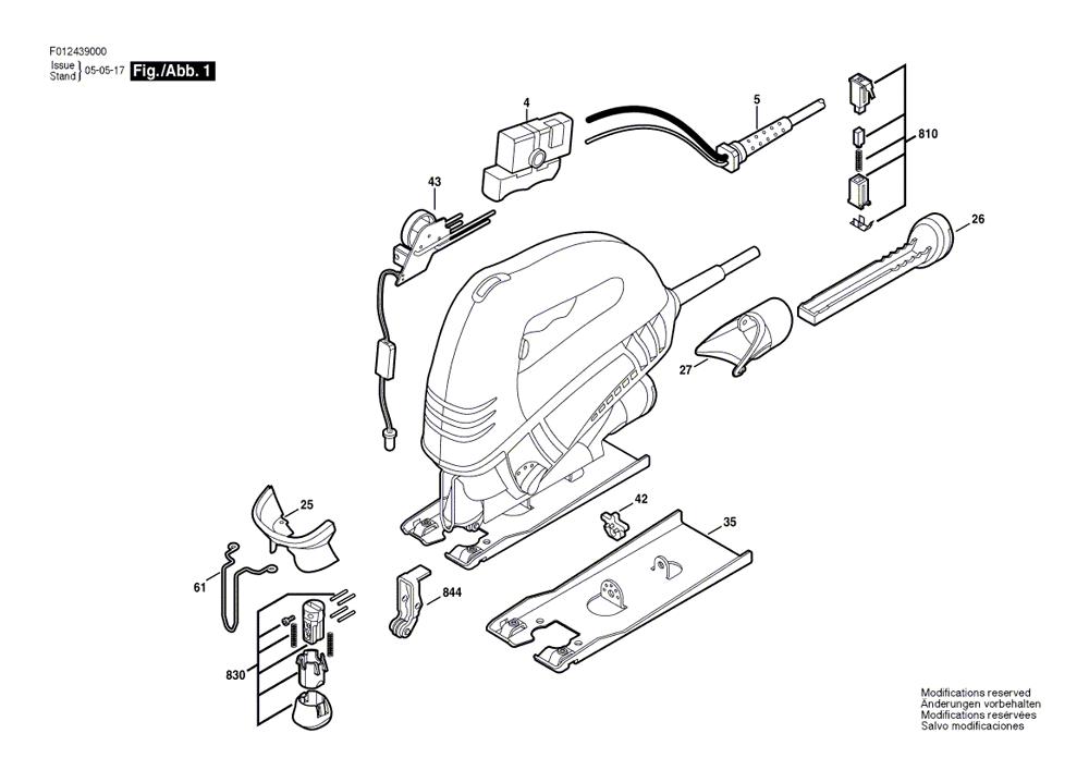 Buy Skil 4390-01 Variable Speed Orbital Jigsaw Replacement