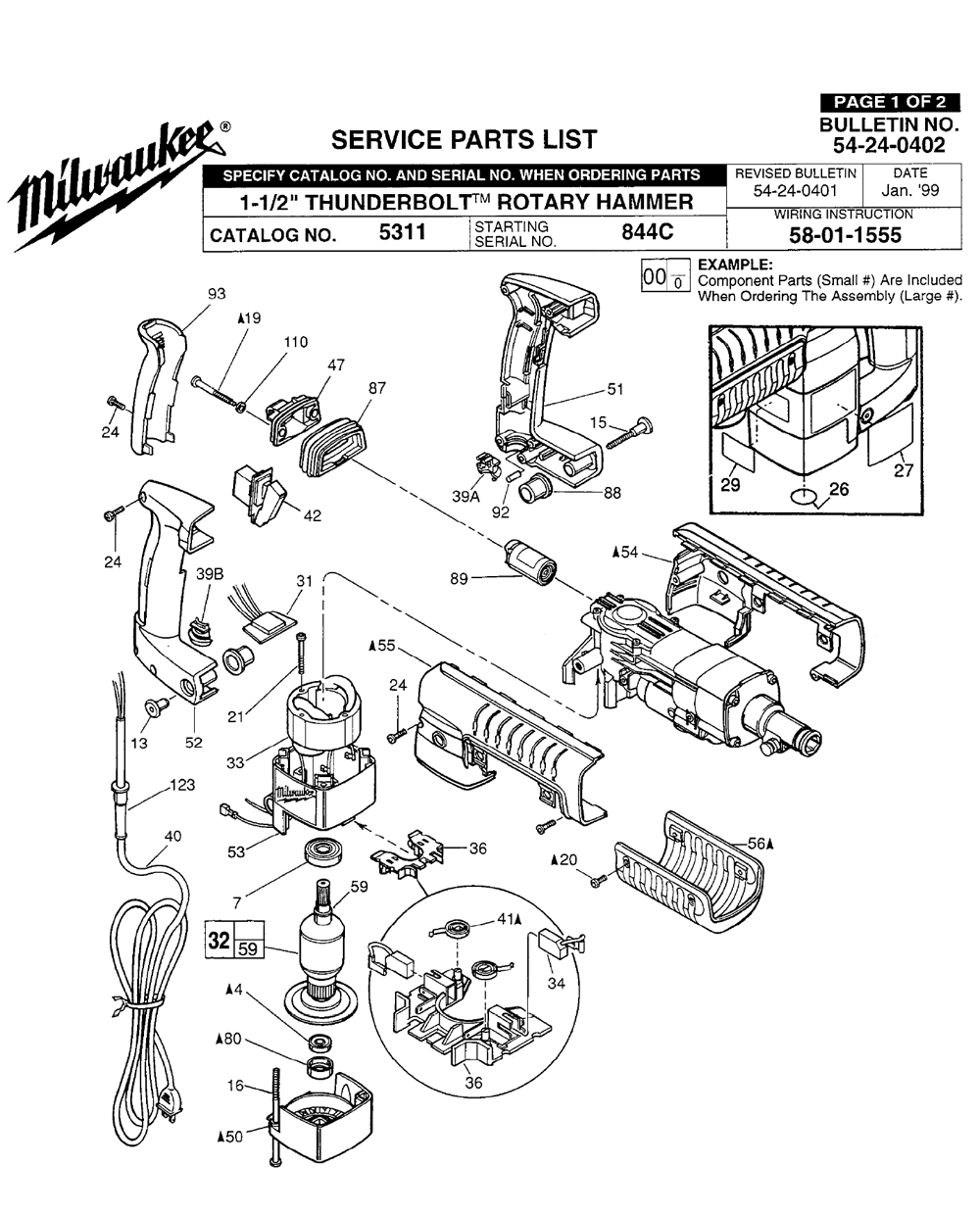 Buy Milwaukee 5311-(844C) 1-1/2