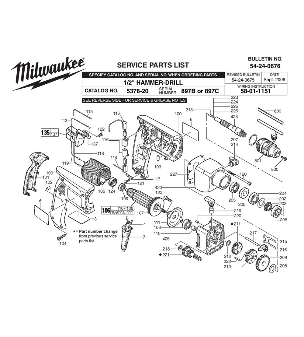 Buy Milwaukee 5378-20-(897B) 1/2 Inch Pistol Grip , 2