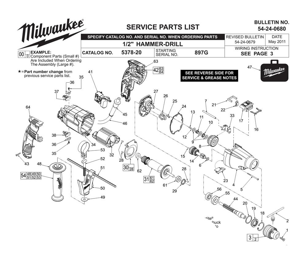 Buy Milwaukee 5378-20-(897G) 1/2 Inch Pistol Grip , 2