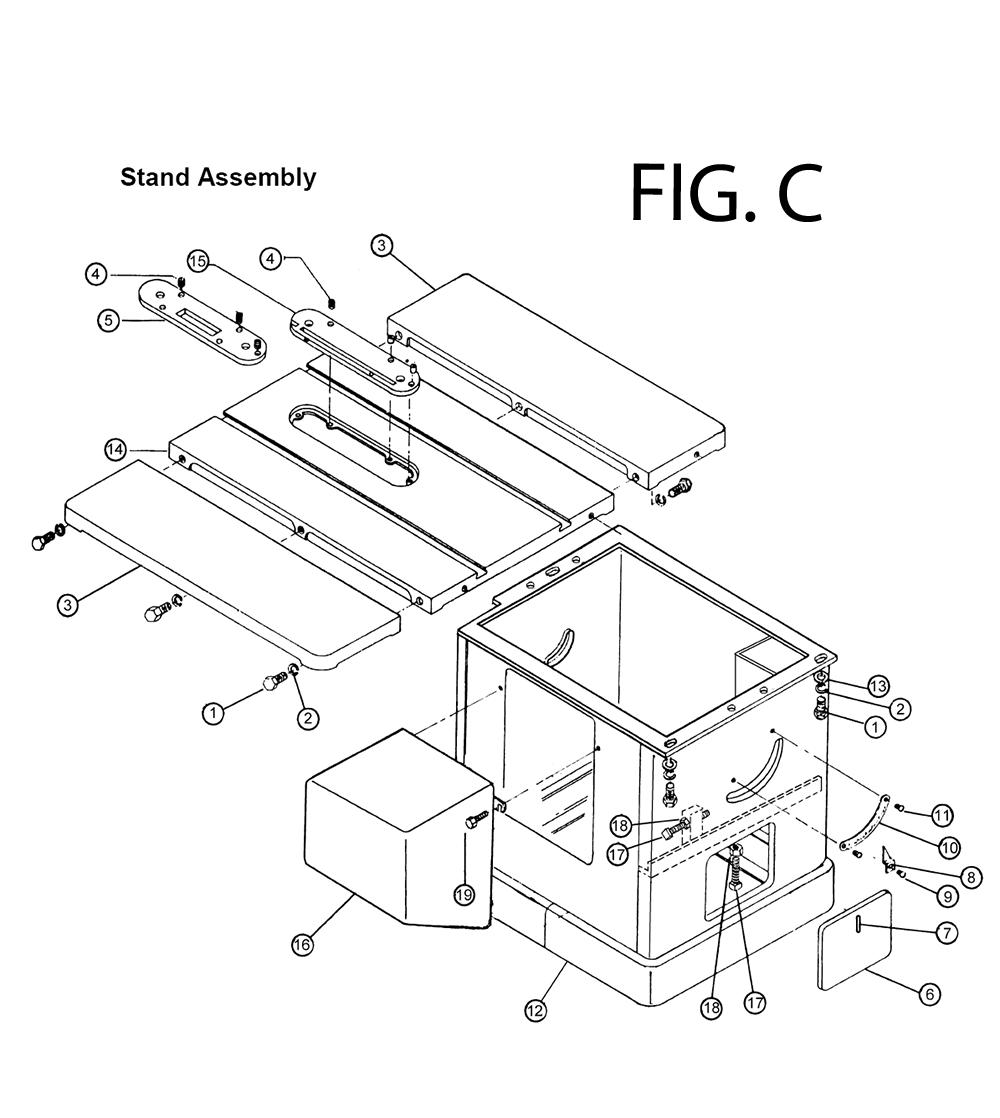 Powermatic Fence Parts