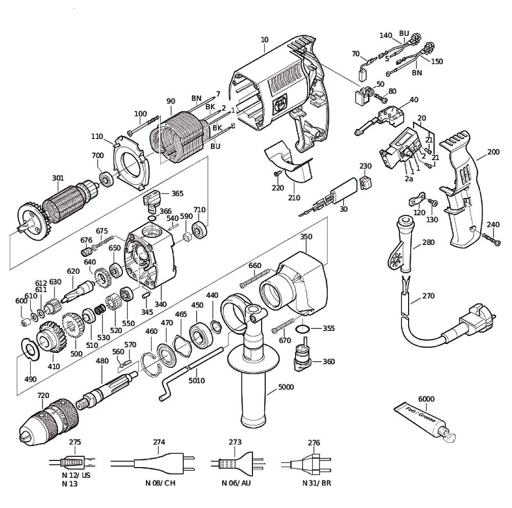 Rammer Hammer Service Manual