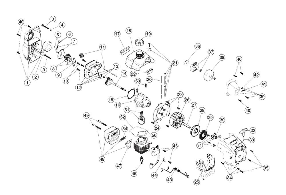 Buy Ryobi 780R (41BD780G034) Replacement Tool Parts