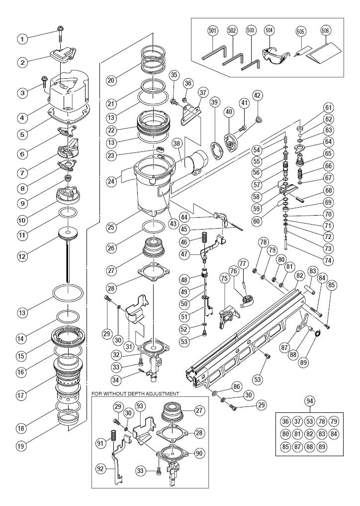 Hitachi Parts