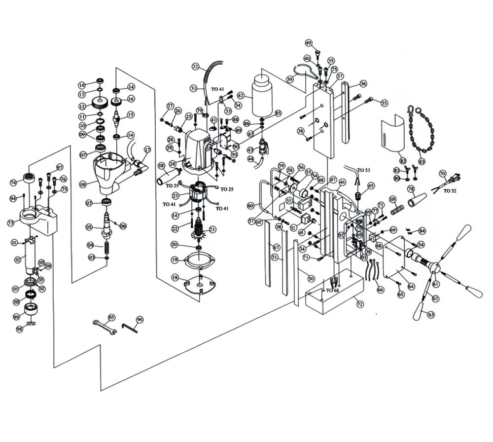 MAG DRILL WIRING SCHEMATIC - Auto Electrical Wiring Diagram on plasma cutter wiring diagram, air compressor wiring diagram, hydraulic press wiring diagram, cold saw wiring diagram,