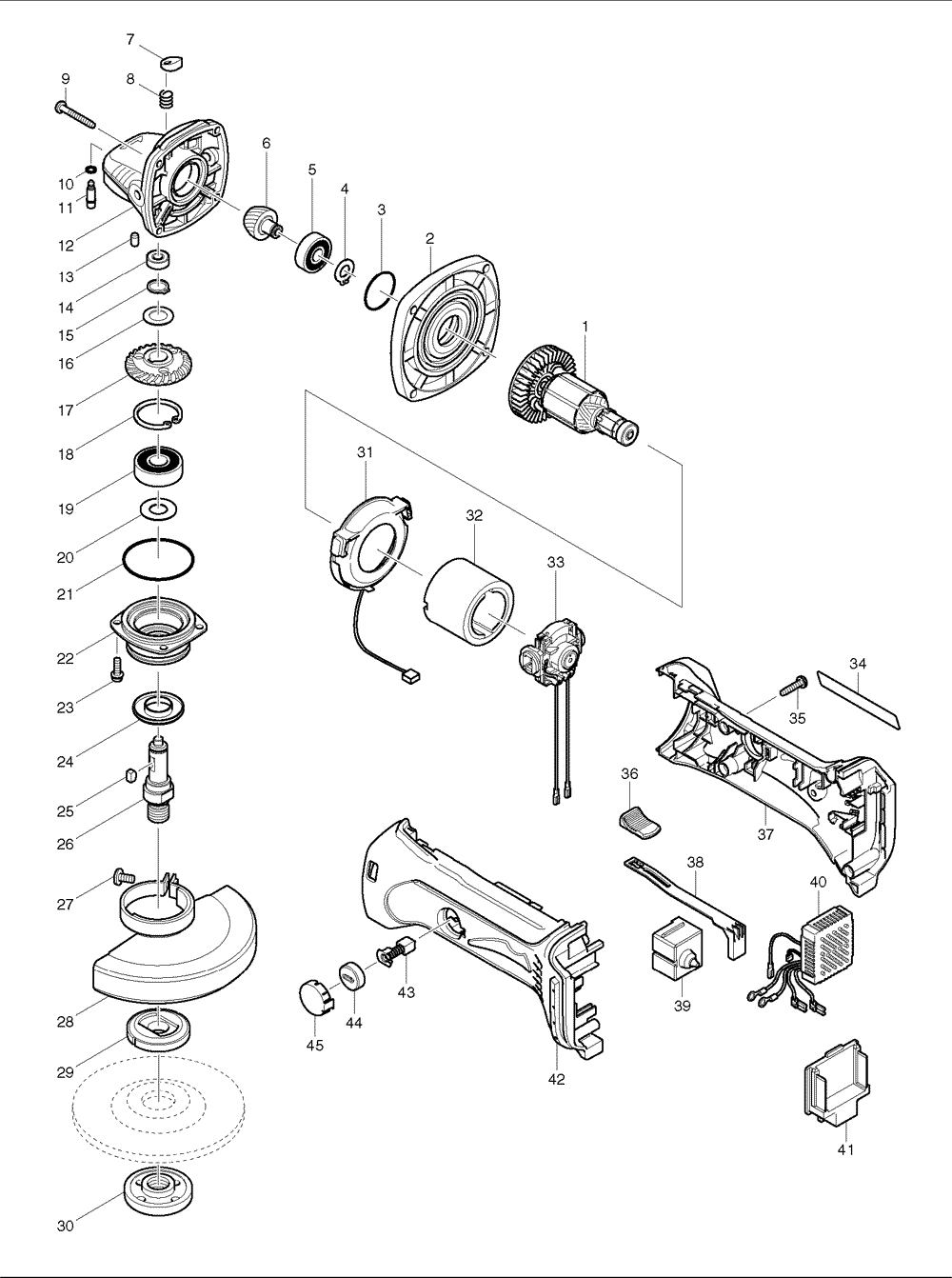 De Walt Circular Saw Parts Diagram, De, Free Engine Image