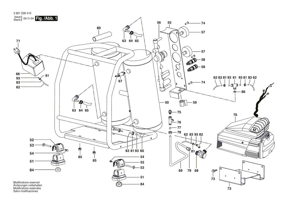 Buy Bosch CET4-20 4 Gallon 2 HP Twin Angled Tank Air