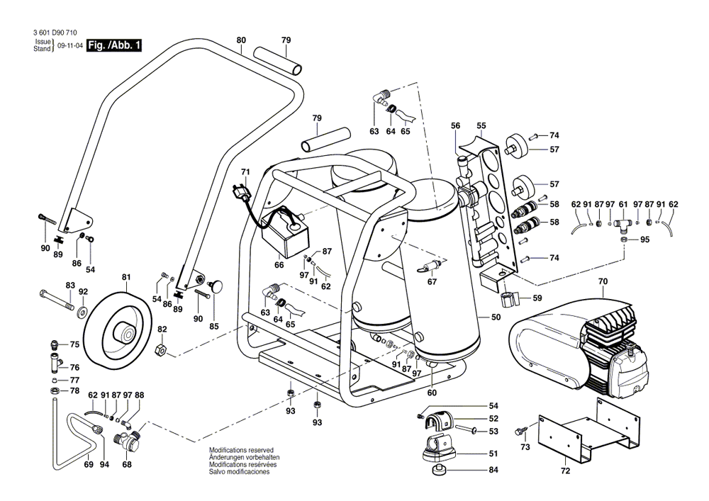 Buy Bosch CET4-20W 4 Gallon 2 HP Wheeled Twin Angled Tank