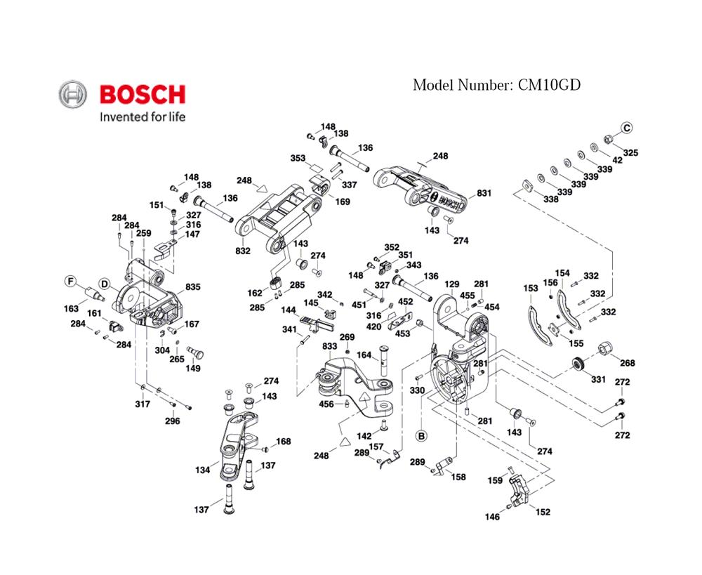 Buy Bosch CM10GD-(3601M27010) 10